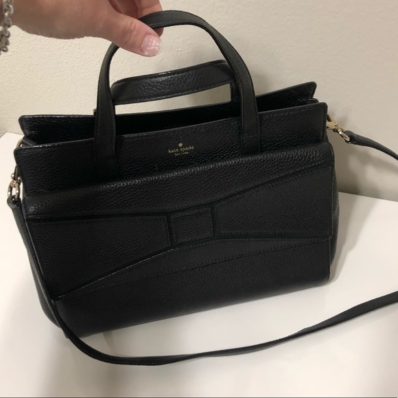 "kate spade Handbags - Kate Spade Black medium ""envelope"" purse"